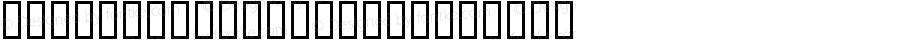 DfPrimitives Two Regular Macromedia Fontographer 4.1 2004-01-23