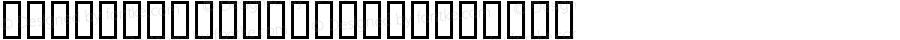 DfPrimitives One Regular Macromedia Fontographer 4.1 2004-01-23