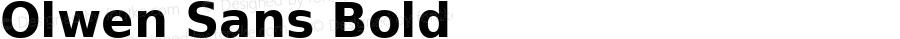 Olwen Sans Bold 0.1