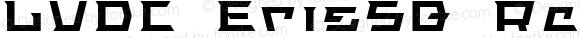 LVDC ErisSQ Regular Macromedia Fontographer 4.1J 04.1.26