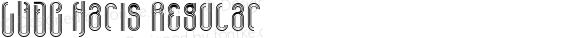 LVDC Haris Regular Macromedia Fontographer 4.1J 04.1.31