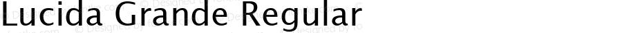 Lucida Grande Regular 4.1d9