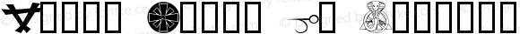 Magic Icons GW Regular Macromedia Fontographer 4.1 4/28/02