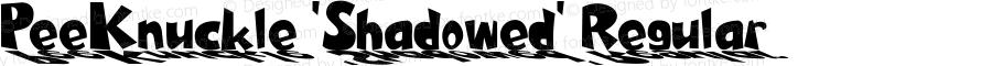 PeeKnuckle 'Shadowed' Regular 2.0; 2-13-2004