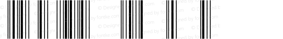 IDAutomationSCBL Regular Version 3.71 2003