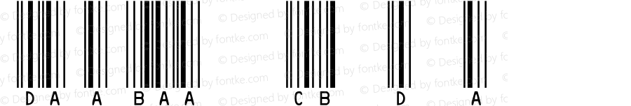 IDAutomationSHCBL Regular OTF 3.710;PS 003.071;Core 1.0.34