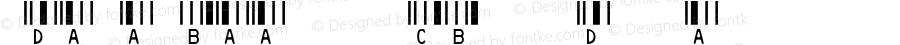 IDAutomationSHCBXS Regular Version 3.71 2003