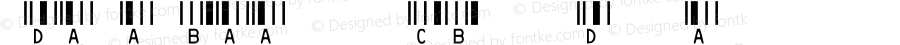 IDAutomationSHCBXS Regular OTF 3.710;PS 003.071;Core 1.0.34