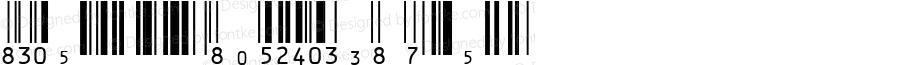 IDAutomationSUPCEANXS Regular Version 3.71 2003