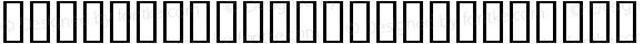 TiffanyCornersII Regular Macromedia Fontographer 4.1 2004-04-12
