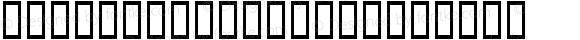 TiffanyCorners Regular Macromedia Fontographer 4.1 2004-04-09