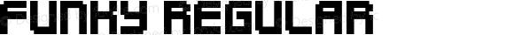 Funky Regular Macromedia Fontographer 4.1.4 10‐05‐2004