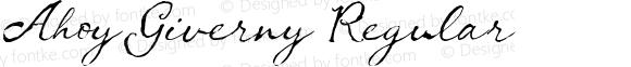Ahoy Giverny