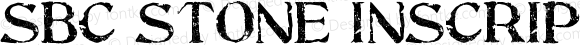 SBC Stone Inscription