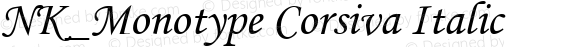 NK_Monotype Corsiva