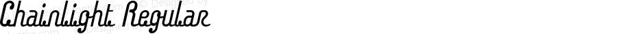 Chainlight Regular Macromedia Fontographer 4.1J 04.7.11