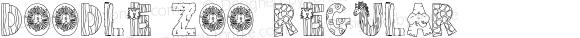 Doodle Zoo Regular Macromedia Fontographer 4.1 10/14/1999