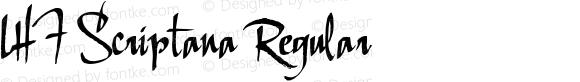 LHF Scriptana Regular 001.001
