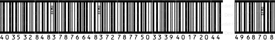 IDAutomationSBHI25M Regular OTF 4.700;PS 004.007;Core 1.0.34