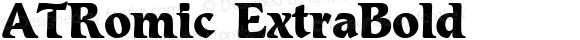 ATRomic ExtraBold 1.0