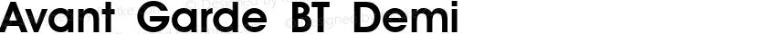 Avant Garde BT Demi Preview Image