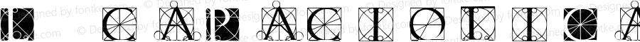LucaPacioliCaps Regular 1.0 2004-09-21