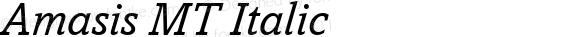 Amasis MT Italic 001.003
