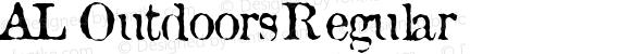 AL Outdoors Regular Macromedia Fontographer 4.1.5 3/29/04