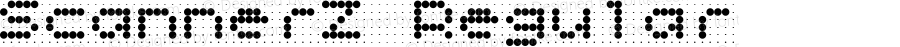 ScannerZ Regular 1.0 xPDF