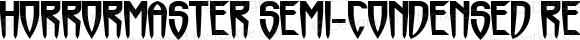 Horrormaster Semi-condensed Regular