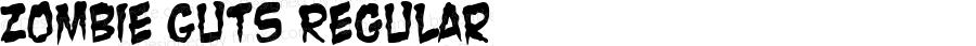 Zombie Guts Regular Macromedia Fontographer 4.1 09/10/2001