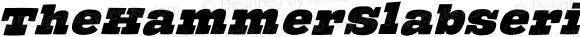TheHammerSlabserif Medium Italic 1.0 2005-02-15