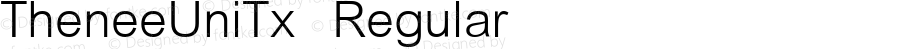 TheneeUniTx Regular Version 3.001