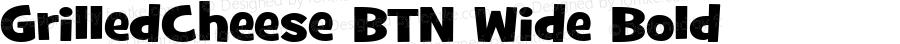 GrilledCheese BTN Wide Bold Version 1.00