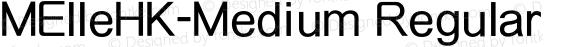 MElleHK-Medium Regular preview image