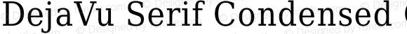DejaVu Serif Condensed Condensed
