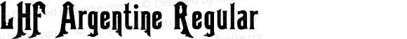 LHF Argentine Regular 001.000