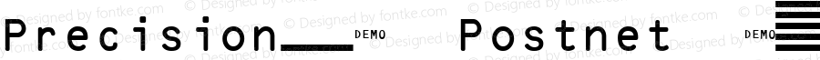 PrecisionID Postnet DEMO Regular Version 2.001 2005