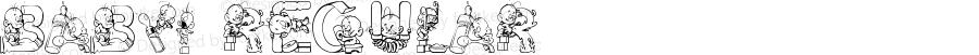 Baby! Regular Macromedia Fontographer 4.1 8/5/02