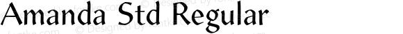 Amanda Std Regular Version 1.012;PS 001.000;Core 1.0.38;makeotf.lib1.6.5960