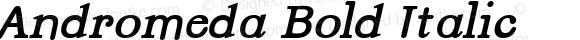 Andromeda Bold Italic