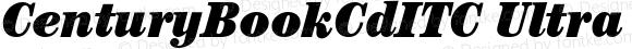 CenturyBookCdITC Ultra Italic