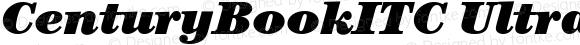 CenturyBookITC Ultra Italic