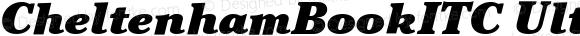 CheltenhamBookITC Ultra Italic