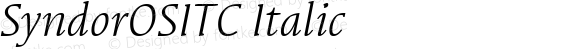 SyndorOSITC-BookItalic