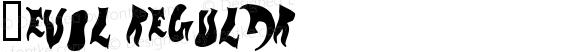 _evol Regular ©  2000 typesize=0, xero harrison http://type.xero.nu/