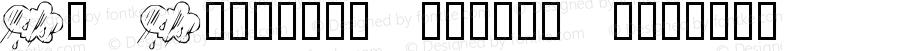 KR Katlings Twelve Regular Macromedia Fontographer 4.1 10/18/2005