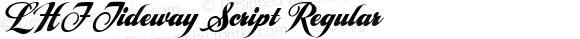 LHF Tideway Script Regular V2. 12/12/2004