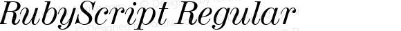 RubyScript Regular