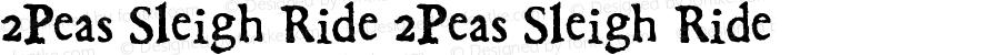 2Peas Sleigh Ride 2Peas Sleigh Ride Version 1.00; December 1, 2002